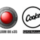 Logo cooke logo red